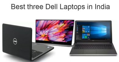 Best Three Dell Laptops in India