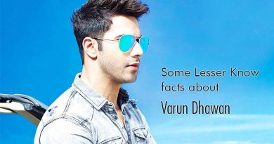 Some Lesser Known facts about Varun Dhawan