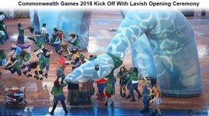 Commonwealth Games 2018 Kick Off With Lavish Opening Ceremony