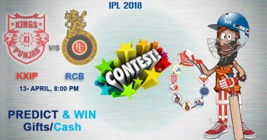 Match 8: Royal Challengers Bangalore Vs Kings XI Punjab Pridiction