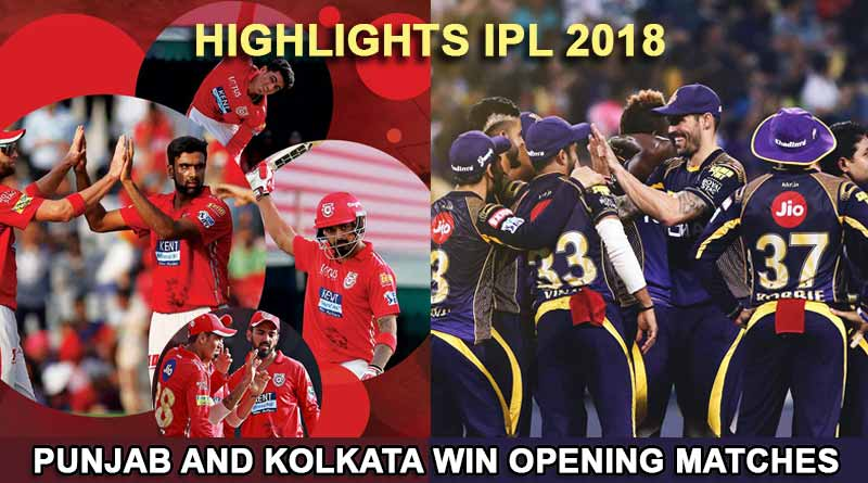 Highlights IPL 2018
