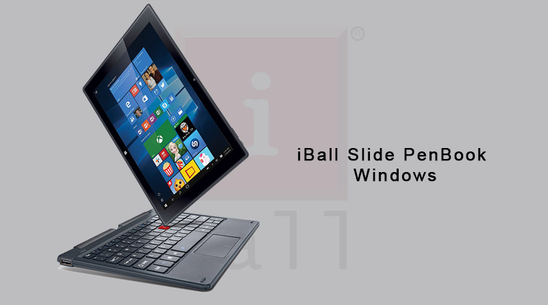 iBall Slide PenBook Windows 10 2-In-1