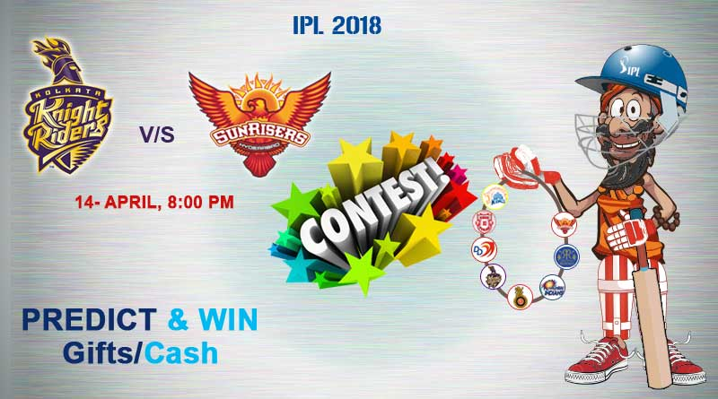 Match 10: Kolkata Knight Riders Vs Sunrisers Hyderabad