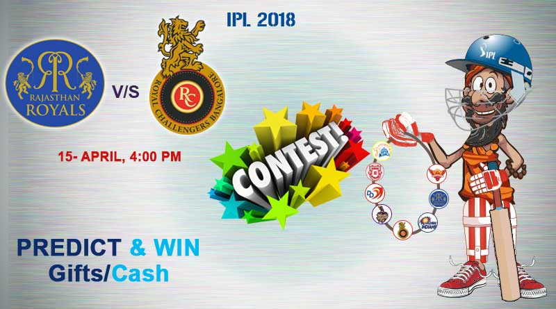 Match 11: Royal Challengers Bangalore Vs Rajasthan Royals