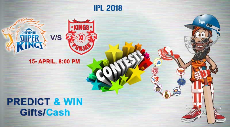 Match 12: Chennai Super Kings Vs Kings XI Punjab