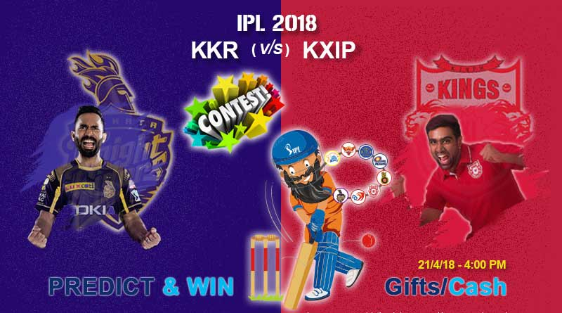 Match 18: Kolkata Knight Riders Vs Kings XI Punjab