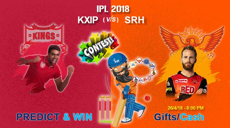 Aaj Hai IPL Ka 25th Match: SRH Vs KXIP