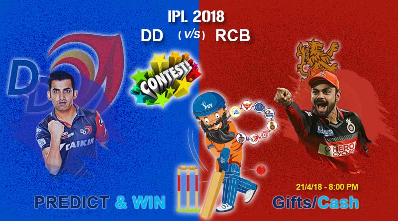 Match 19: Royal Challengers Bangalore vs Delhi Daredevils