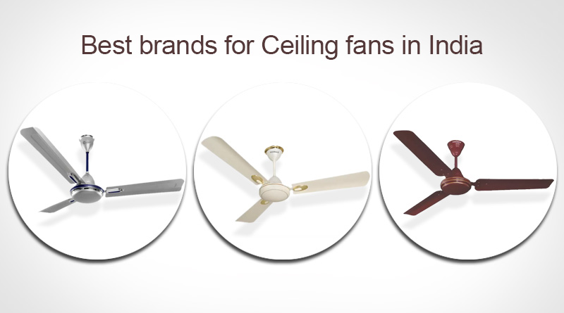 Best Brands for Ceiling Fans in India