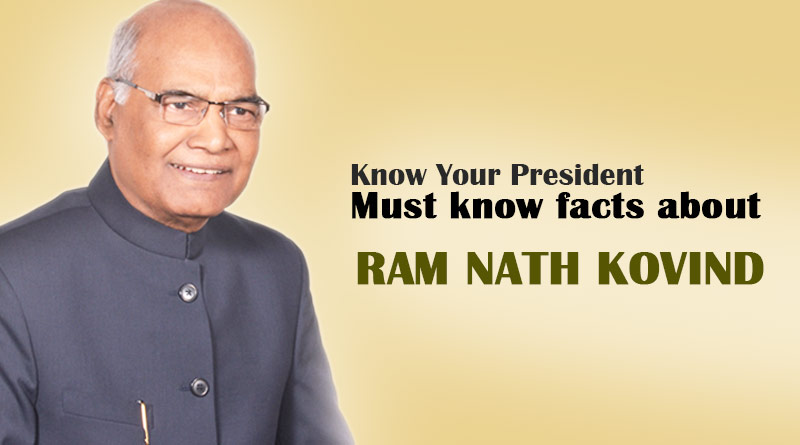 Must know facts about Ram Nath Kovind President