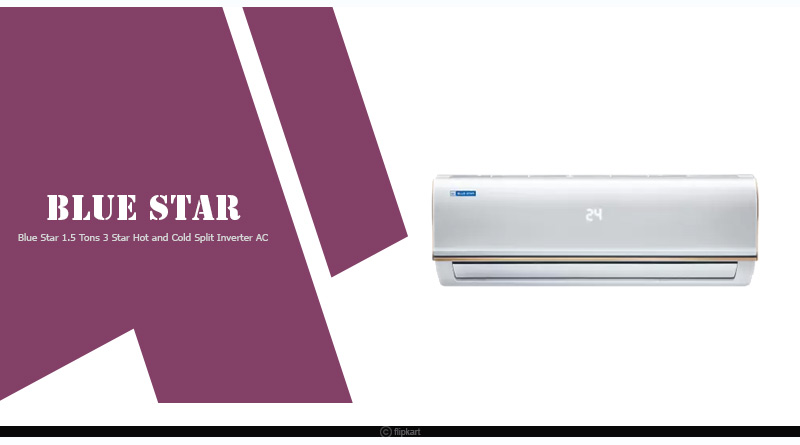 best hot and cold split AC in India