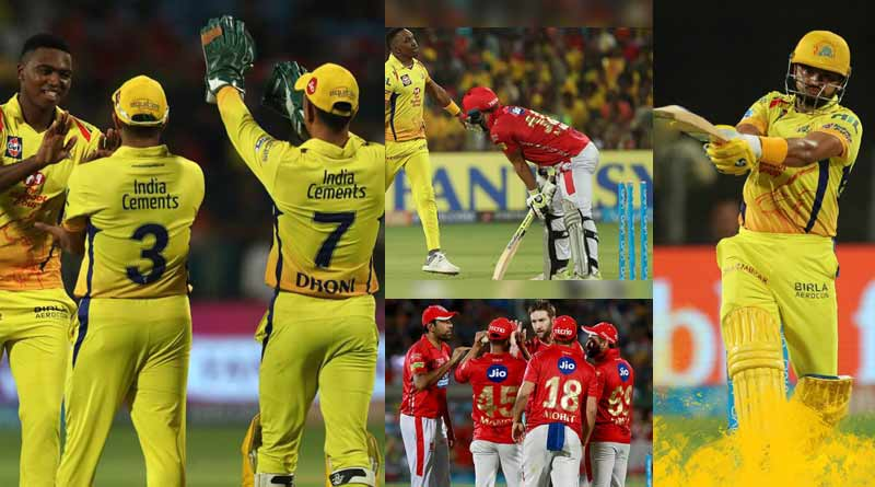 csk vs kxip ipl match highlights