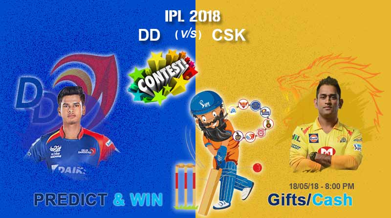dd vs csk today ipl match