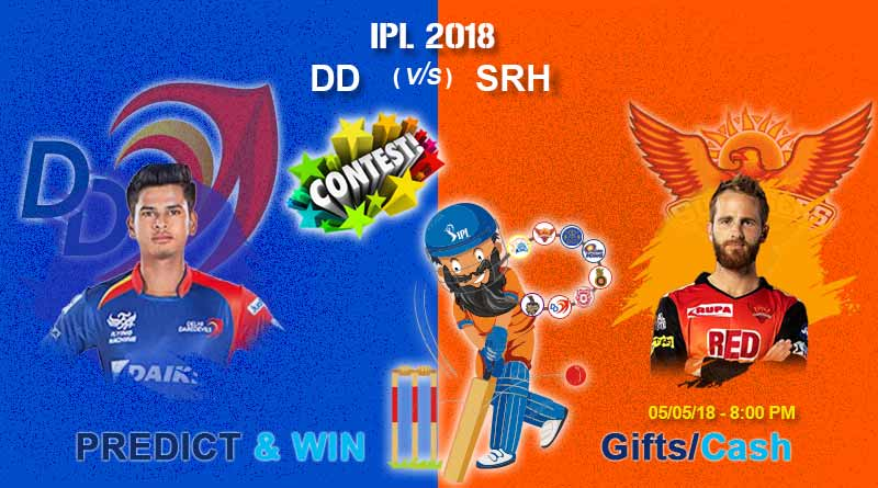 dd vs srh ipl match