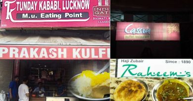 famous eating places in lucknow