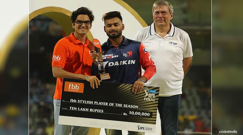 ipl 2018 stylish player of the season