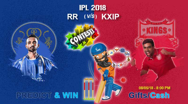 IPL match today KXIP vs RR