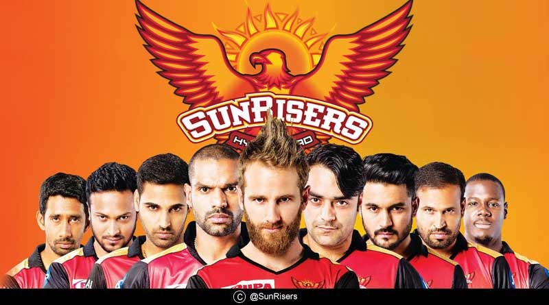 ipl sunrisers hyderabad team