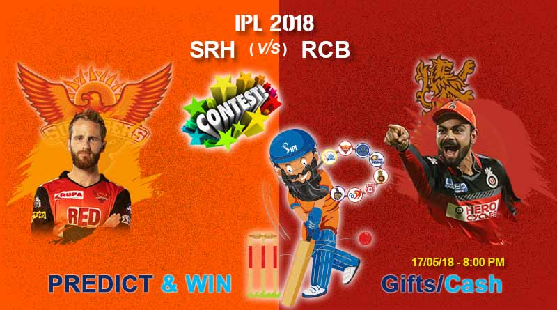rcb vs srh today ipl match