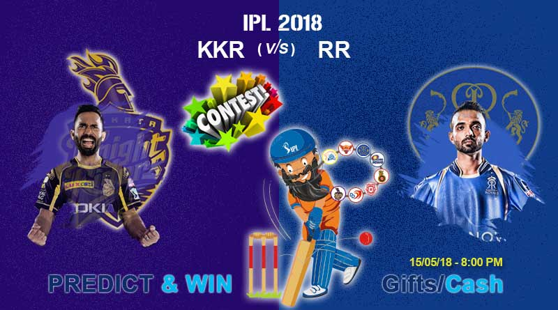 rr vs kkr ipl match today