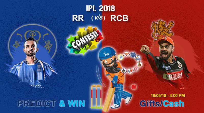 rr vs rcb today ipl match