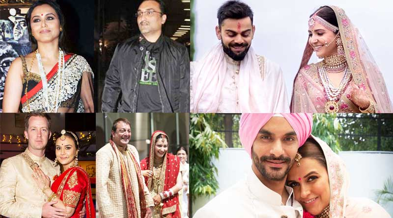 secret bollywood marriages