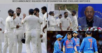 squads for afghanistan and england matches