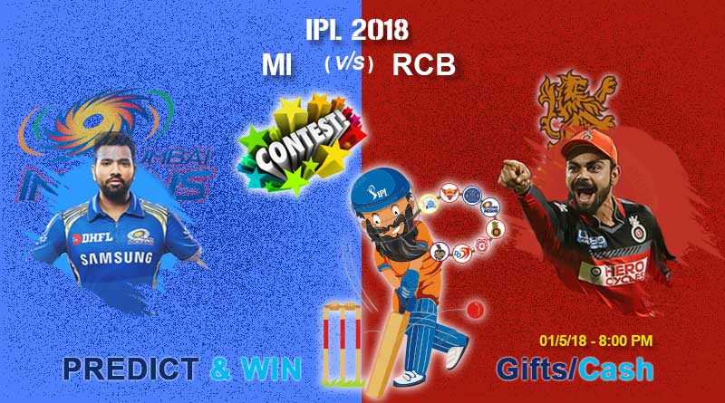 Aaj hai IPL ka 31st Match: MI vs RCB