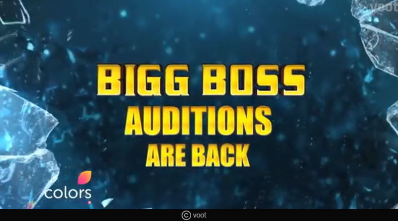 big boss 12 auditions