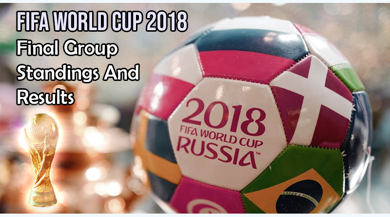 fifa 2018 final group standings
