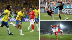 FIFA World Cup 2018: Day Of Upsets Sees Germany And Brazil Slip