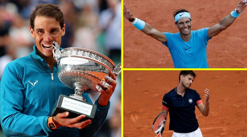 French Open 2018 - Nadal Defeats Dominic Thiem match highlights