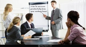 How to increase productivity from your working hours