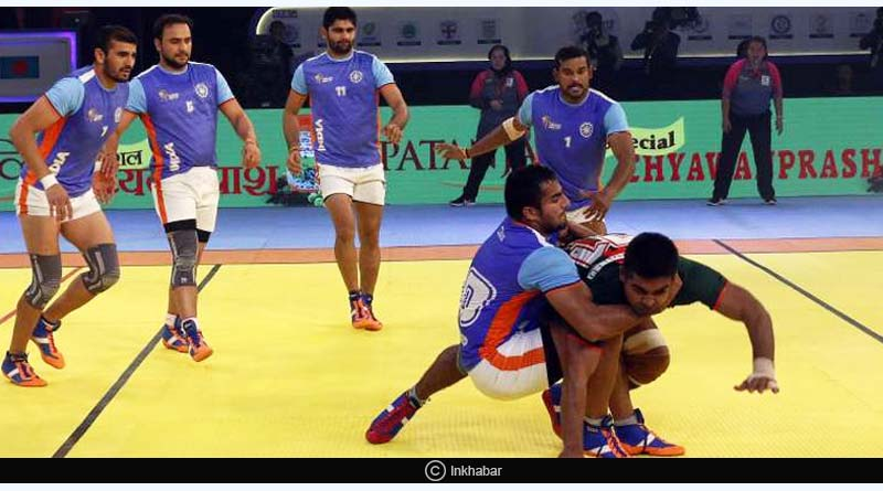 Kabaddi Masters 2018 India Vs  Pakistan