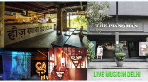 Five best places to visit for live music in Delhi