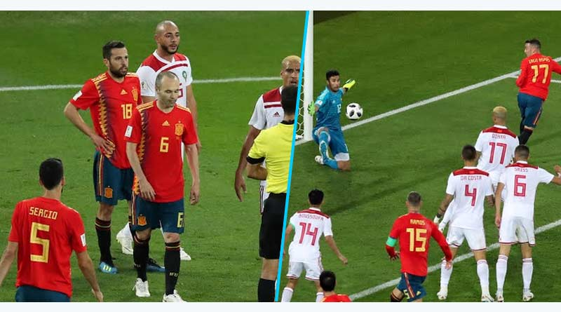 world cup highlights spain