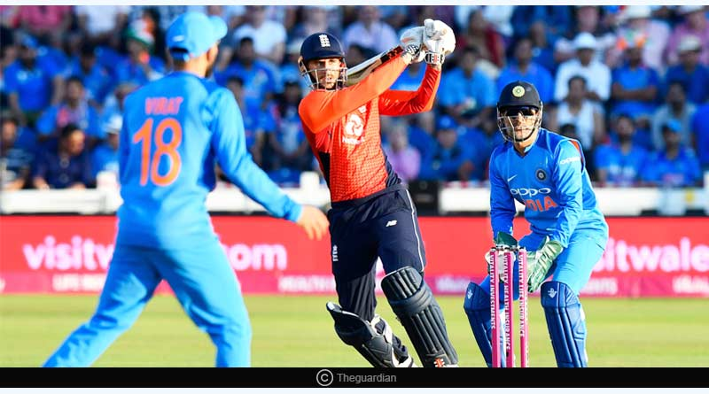 England vs India T20 Series cricket match
