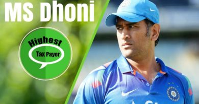 MS Dhoni becomes highest tax payer