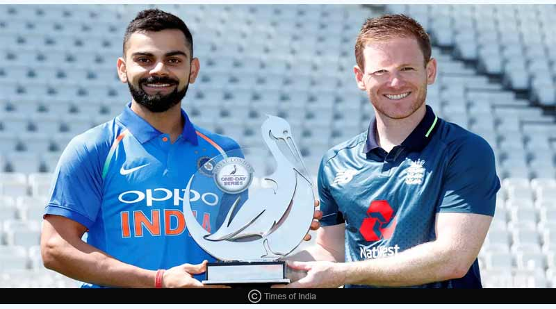 england vs india second match