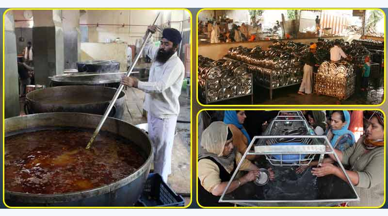 golden temple langar utensil food