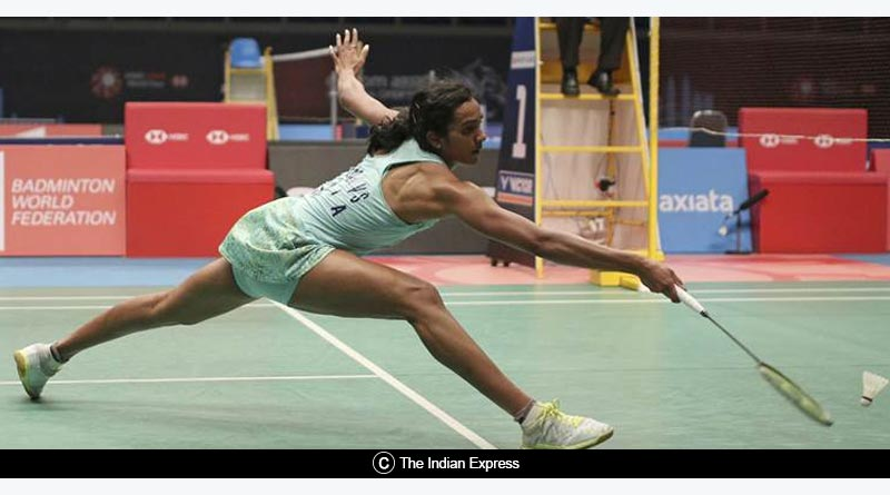 indonesia open  badminton pv sindhu