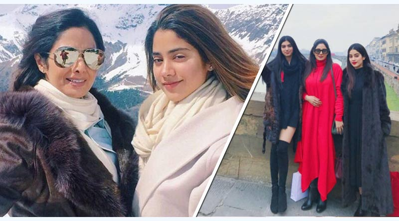 jhanvi travelling with family