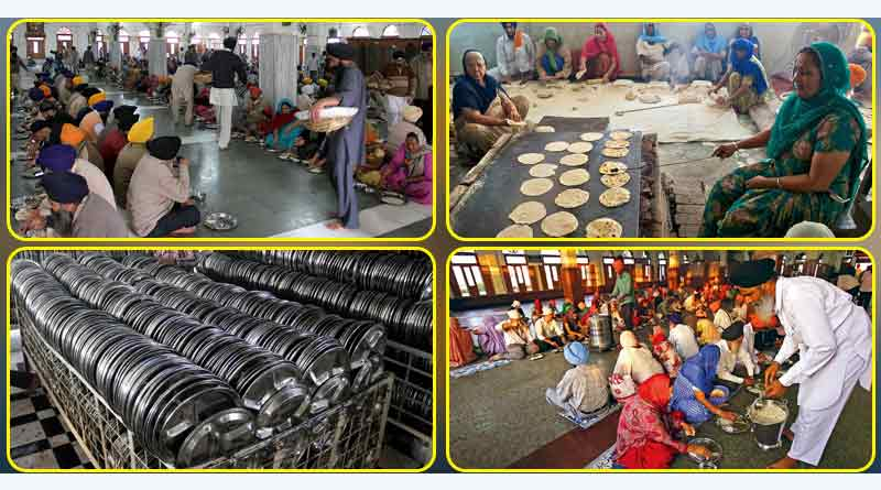 langar at the golden temple