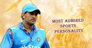 admired sports personality India
