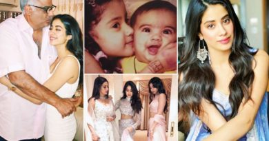 pictures of jhanvi kapoor with her Mom