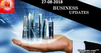 India business news headlines 27th August 2018