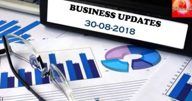 india business news headlines 30th august 2018