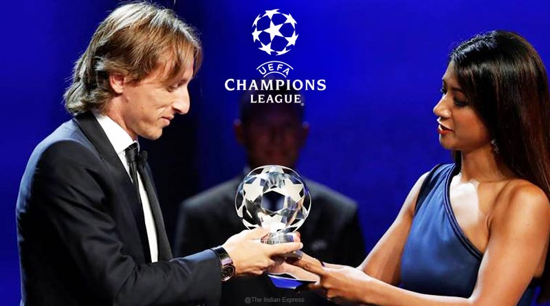 UEFA Champions League awards ceremony
