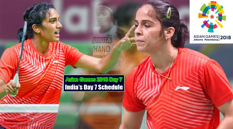 Asian Games 2018 Day 7