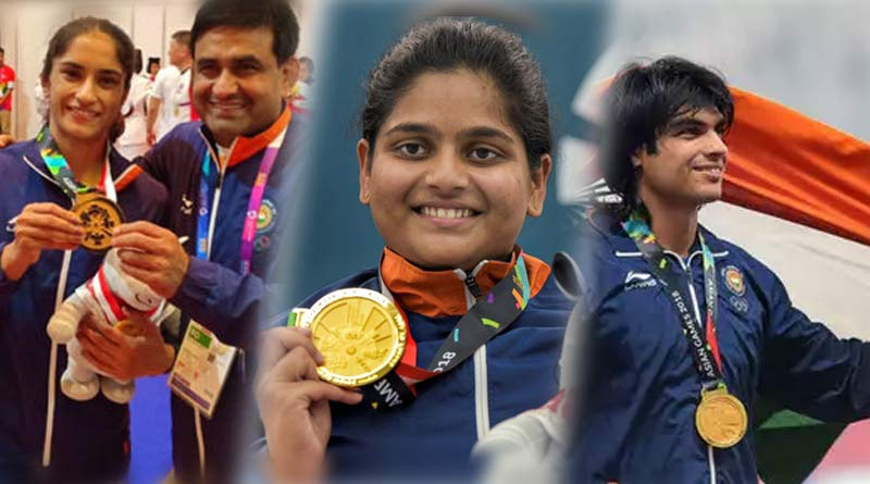 asian games 2018 medal tally in hindi